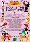 Flyer thumbnail for Doune The Rabbit Hole: The Wailers, John Grant, Battles, Hot 8 Brass Band, Lee 'Scratch' Perry, Shonen Knife, The Skids, BEAK>, Dr John Cooper Clarke, Kathryn Joseph & more