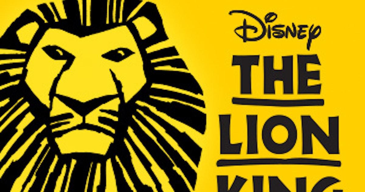 Disneys The Lion King Tickets Edinburgh Playhouse Theatre 5th Dec 2019
