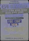 Flyer thumbnail for Evil Blizzard, Pigs Pigs Pigs Pigs Pigs Pigs Pigs, Strange Bones, Part Chimp, Membranes, Fighting