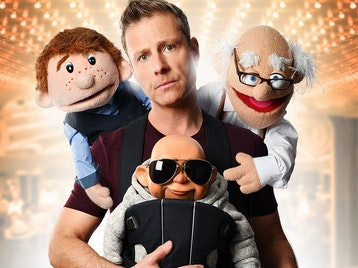 Paul Zerdin's Puppet Party: Paul Zerdin picture