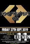 Flyer thumbnail for Foo Fighters GB