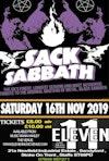 Flyer thumbnail for Sack Sabbath