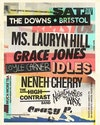 Flyer thumbnail for The Downs Bristol 2019: Ms. Lauryn Hill, Grace Jones, Loyle Carner, Idles, Neneh Cherry, High Contrast, Nightmares On Wax, Crazy P (DJ), Fontaines D.C.