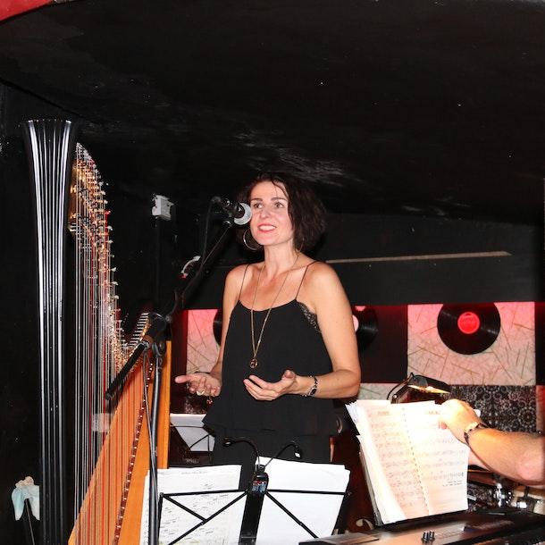 Alina Bzhezhinska / Tony Kofi Quartet