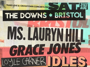 The Downs Bristol 2019: Ms. Lauryn Hill, Grace Jones, Loyle Carner, Idles, Neneh Cherry, High Contrast, Nightmares On Wax, Crazy P (DJ), Fontaines D.C. picture