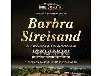 Barclaycard presents British Summer Time Hyde Park 2019: Barbra Streisand picture