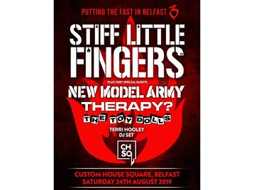Stiff Little Fingers, New Model Army, Therapy?, The Toy Dolls, Terri Hooley picture