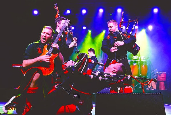 Red Hot Chilli Pipers Tour Dates