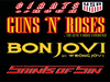 Flyer thumbnail for Giants of Rock 2019: The Guns N Roses Experience, Wrong Jovi, Saints of Sin