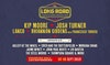 Flyer thumbnail for The Long Road Festival 2019: Kip Moore, Josh Turner, LANCO, Rhiannon Giddens, Asleep At The Wheel, The Cactus Blossoms, Charley Crockett, Coco And The Butterfields, Eric Paslay, Morgan Evans & more