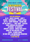 Flyer thumbnail for Detonate Festival 2019: DJ EZ, Bugzy Malone, Andy C, Fisher, Wilkinson, Hardy Caprio, Shy FX, David Rodigan, Headie One, My Nu Leng & more