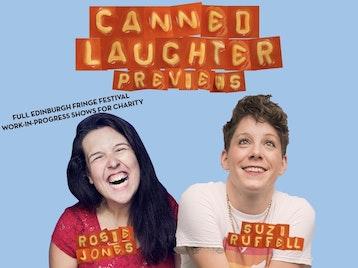 Canned Laughter - Edinburgh Previews: Suzi Ruffell, Rosie Jones picture