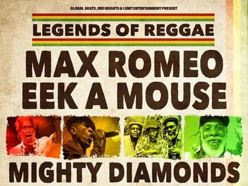 Legends Of Reggae: Max Romeo, Eek-A-Mouse, Mighty Diamonds, Big Youth picture