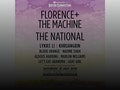 Florence + The Machine, The National event picture