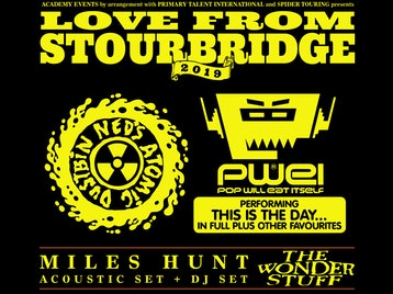 Love From Stourbridge 2019: Ned's Atomic Dustbin, Pop Will Eat Itself, Miles Hunt, Miles Hunt (DJ Set) picture