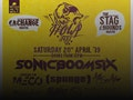 Howl Fest: Sonic Boom Six, Press To MECO, [spunge] event picture