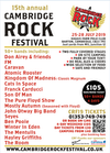 Flyer thumbnail for Cambridge Rock Festival: Don Airey, Kingdom of Madness: Classic Magnum, The Brink, The Pure Floyd Show, Creedence Clearwater Review, Cornerstone, FM, Cats In Space, The Mentulls, 4th Labyrinth & more