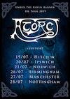 Flyer thumbnail for UK Tour: Atorc, Stormrider, Symmetry Of Souls, Devil's Dice