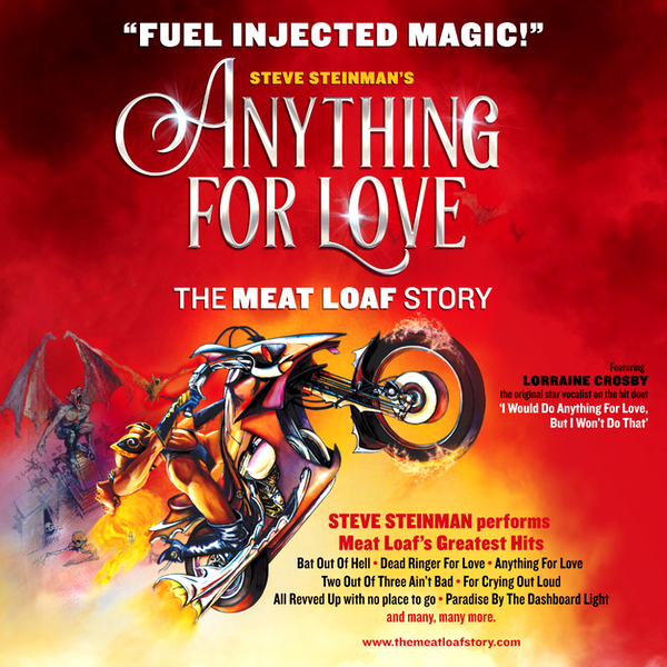 Steve Steinman's Anything For Love - The Meat Loaf Story Tour Dates
