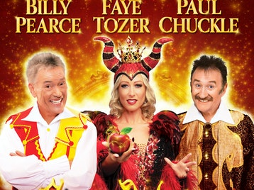 Snow White And The Seven Dwarfs: Billy Pearce, Faye Tozer, Paul Chuckle picture
