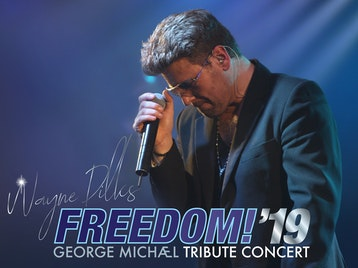 Freedom! '19 George Michael Tribute Concert: Wayne Dilks as George Michael picture