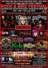Flyer thumbnail for Rock And Bike Fest 2019: Toyah Willcox, The Quireboys, Dr Feelgood, Kingdom of Madness: Classic Magnum, X-UFO, T-Rex (Sounds Of Mark & Mickey), Bad Touch, Neck, Rainbow Rising, Floyd In The Flesh & more