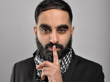 Tez Ilyas, Wayne The Weird, Andy Stedman, Adrienne Coles picture
