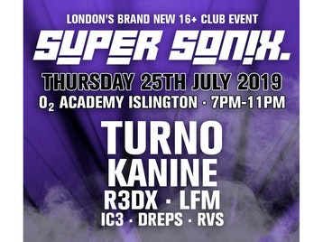 Super Sonix Summer Special: Turno, Kanine, R3DX, LFM, MC IC3, Dreps, RVS picture