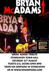 Flyer thumbnail for Bryan Adams Tribute: Bryan McAdams