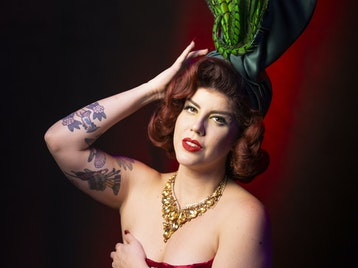 Hundred Watt Club - Burlesque & Vaudeville In Sevenoaks: Hundred Watt Club, Lena Mae, Christian Lee, Meth, Chastity Belt, Miss Cherry On Fire picture