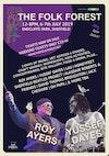 Flyer thumbnail for The Folk Forest: Roy Ayers, Lau, Alasdair Roberts, David Thomas Broughton, Honeyfeet, Yussef Dayes, Jack Cheshire