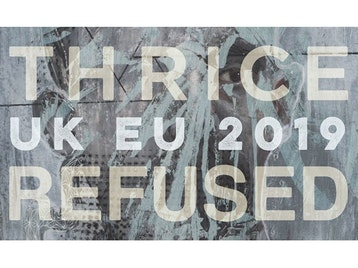 Thrice / Refused Co-Headline Tour: Thrice, Refused, Gouge Away picture