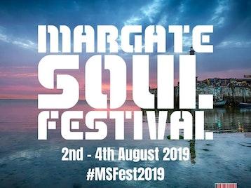 Margate Soul Festival: Incognito, Light Of The World, Michelle John, Lukas Setto, James 'D-Train' Williams, Cool Million, Omar, David .A. Tobin, Janet Kay, Mad Yella picture