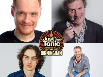 Just the Tonic Comedy Club - Birmingham: Peter Otway, Andrew Lawrence, Peter Brush, Noel James picture