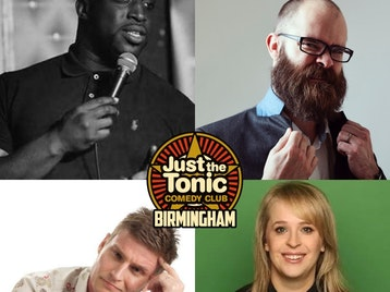Just the Tonic Comedy Club - Birmingham: Emmanuel Sonubi, Chris Betts, Scott Bennett, Hayley Ellis picture