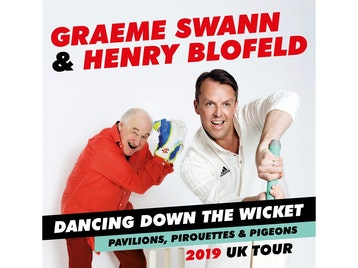 Dancing Down The Wicket: Graeme Swann, Henry Blofeld picture