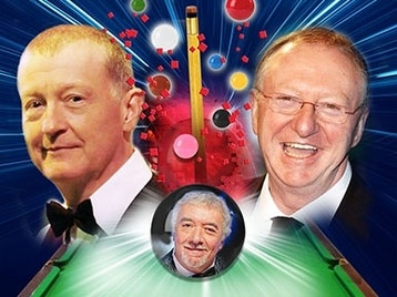 An Evening with Snooker Greats: Steve Davis, Dennis Taylor, John Virgo picture