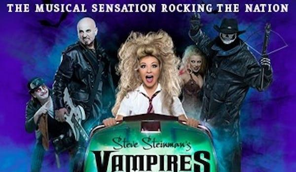 Steve Steinman's Vampires Rock Tour Dates