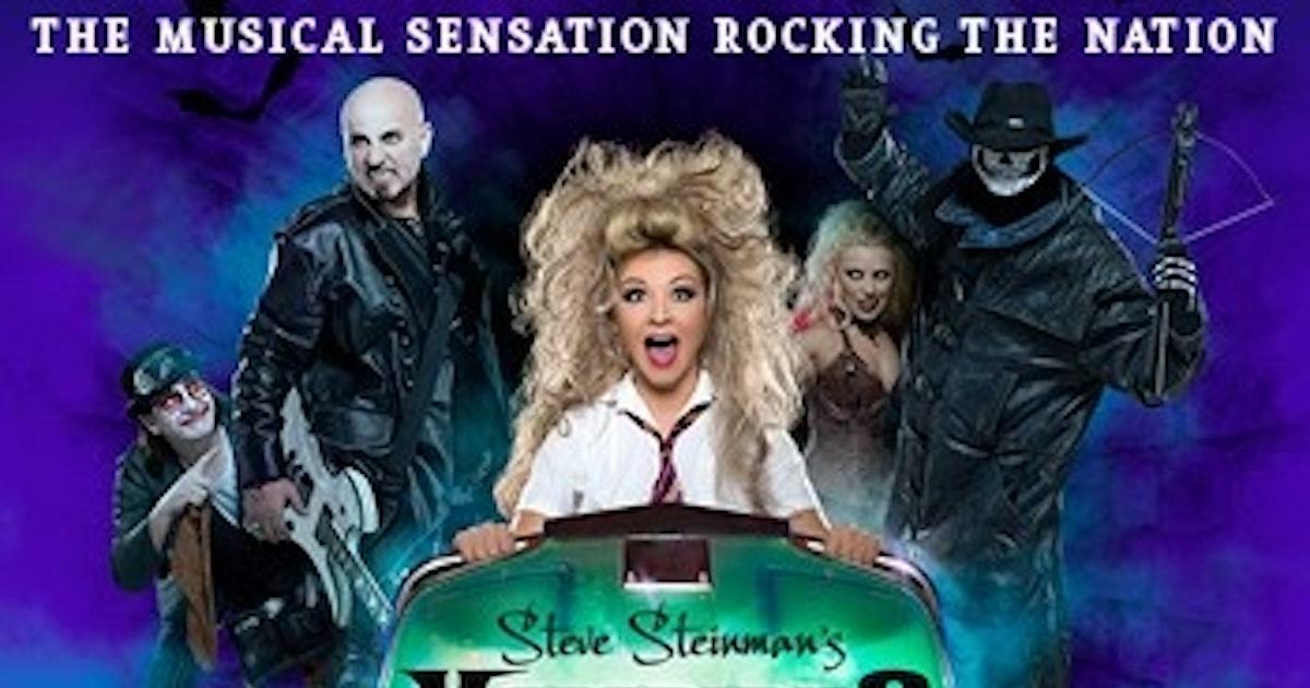 Meatloaf Tour Dates 2020 Steve Steinman's Vampires Rock Tour Dates & Tickets 2020   Ents24