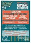 Flyer thumbnail for Ritual Union 2019: Teleman, The Comet Is Coming, Self Esteem, Pigs Pigs Pigs Pigs Pigs Pigs Pigs, Ibibio Sound Machine, Young Knives, Twin Peaks, Flamingods, The Soft Cavalry, Heavy Lungs & more
