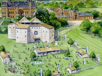 Shakespeare's Rose Theatre At Blenheim Palace picture