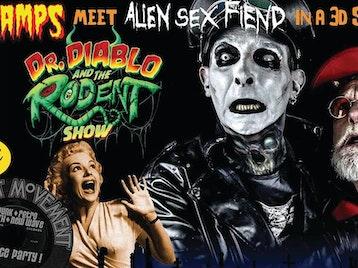The Cramps Meet Alien Sex Fiend - 3D Shockorama: Dr Diablo and The Rodent Show, Mutant Movement picture