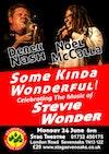 Flyer thumbnail for Some Kinda Wonderful - The Music Of Stevie Wonder: Noel McCalla, Derek Nash