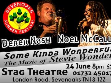 Some Kinda Wonderful - The Music Of Stevie Wonder: Noel McCalla, Derek Nash picture