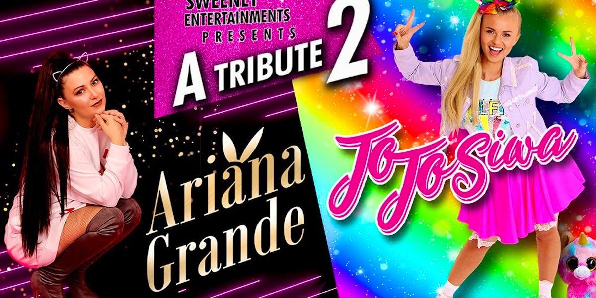 Ariana & JoJo Theatre Show Swindon Tickets, Wyvern Theatre ...