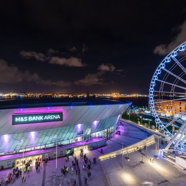 M&S Bank Arena Liverpool Events