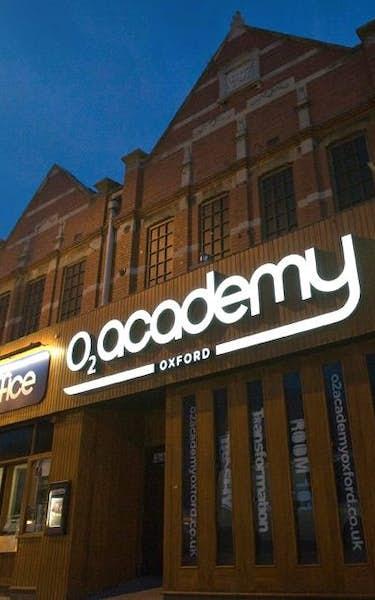O2 Academy Oxford Events