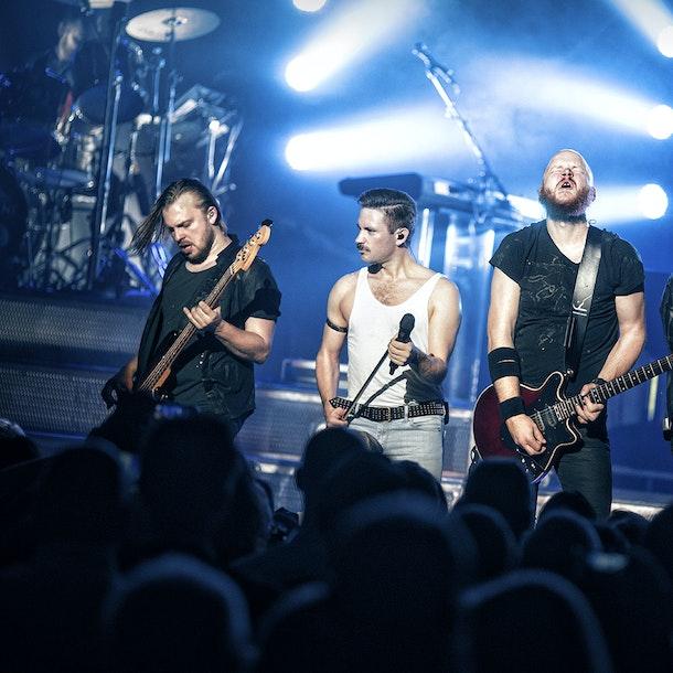 Queen Machine Tour Dates
