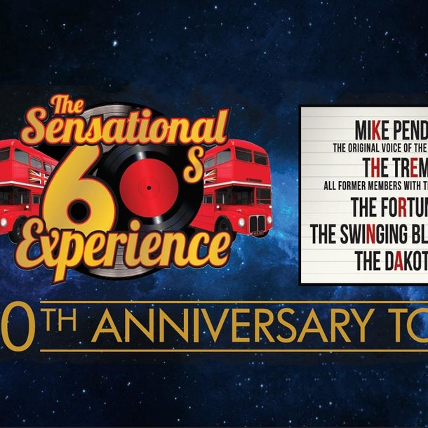 The Sensational 60s Experience Tour Dates