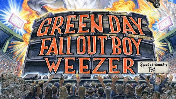 Green Day / Fall Out Boy / Weezer